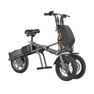 Dobragem Eco-Rider bicicleta eléctrica 36V 250W três rodas de bicicleta de bolso