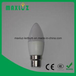 Luminária com LED 6W com C37 Lâmpadas da luz de velas LED dimerizável