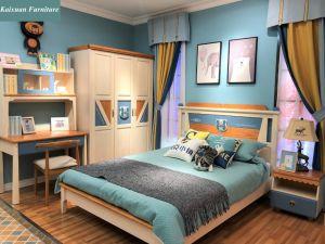 d6d3fe28674f Preciosa madera maciza de diseño de los Niños Los niños cama de los niños  Muebles de