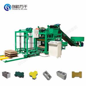 Industrias Qtj4-25 bloque hueco de la máquina de Bloques de Concreto / la pavimentación de la fabricación del bloque maquinaria