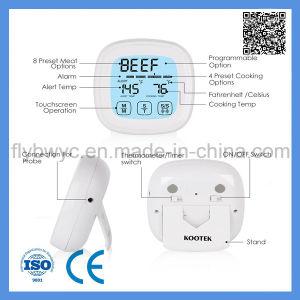 Digital-Fleisch-Thermometer für das Kochen des Küche BBQ-Ofens mit Timer