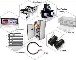 Оптовая торговля промышленной автоматическая 20000 потенциала инкубатор для куриных яиц с тележки