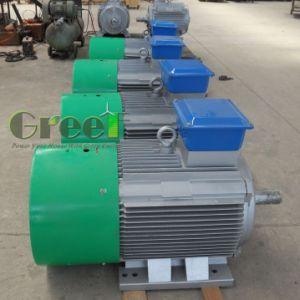 50Hz 100kw 150-1500rpm generador de imanes permanentes para las pruebas