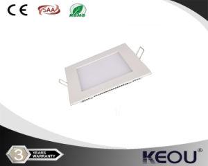 China proveedor RoHS CE aprobó, 3W-24W, CRI90 Plaza rebajada la luz del panel LED