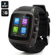 5MP 3G Smart Watch Phone Inch Screen Android 4.4 CPU-ROM 1.54 OS-Dual Core 4G Handwear Watch WCDMA