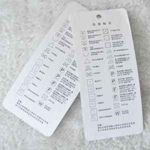 Livre blanc de minimum faible étiquette Foe Garment