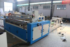 1575/1880/3000mm Full automatic lavabo/Máquina de enrolamento do rolo de papel de cozinha da linha de produção