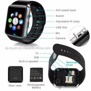 Relógio esperto Wearable com ranhura para cartão de SIM (GT08)
