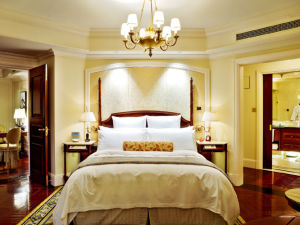 Slaapkamer Hotel Stijl : Meubilair van de slaapkamer van het hotel van de stijl van de luxe