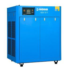 GGV 37 kW 50 HP de refrigeração do óleo da poupança de energia 40% com Accionamento de Velocidade Variável de Íman Permanente Conversão de freqüência do Compressor de ar de parafuso