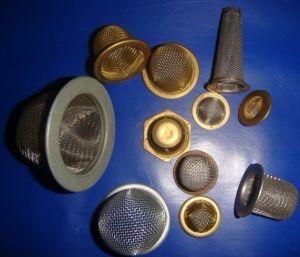 Fil de moulage par injection de la rondelle du filtre à mailles
