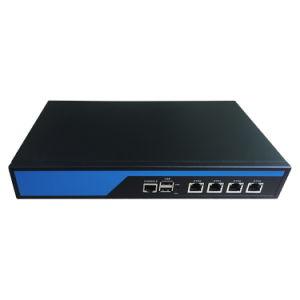 Kundenspezifische Unternehmen Zeile-Kinetik vier Gigabit-Netzfirewall WiFi Fräser