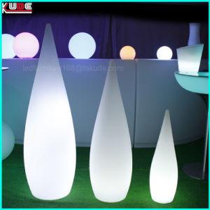 LED iluminado Cylinde quadrados com iluminação para Eventos Casamentos Partes