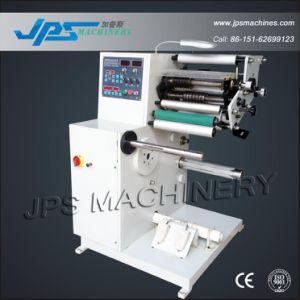 De automatische Zelfklevende Snijmachine van de Sticker met Één Opnieuw opwindende Schacht (Horizontale Stijl)