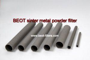 Beot-Porous filtro cilíndrico de metal