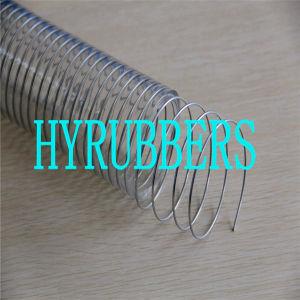 Гибкая полихлорвиниловая Spray экранирующая оплетка шланг ПВХ Спиральную, всасывающий шланг ПВХ