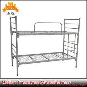 Deux châssis de niveau tube en acier détachable de lits superposés en métal militaire bon marché pour la vente