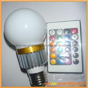 Fernsteuerungs-LED-Birnen-Lampe 3*1W, 1*3W, 3*3W