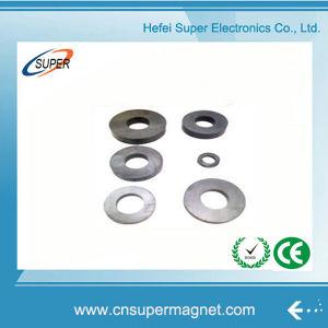 Disco sinterizado (32-18*6mm) Magneto de ferrite para alto-falante
