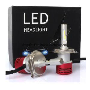 luz auto 60W LED H4 de los bulbos 4200lm LED de la linterna de la luz V5 H4 LED del coche de 6000k LED