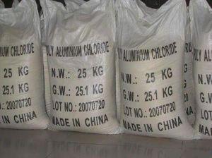 Gele Poeder van het Chloride van het Aluminium van het Product van de hoge Zuiverheid het Industriële Stevige Chemische Poly