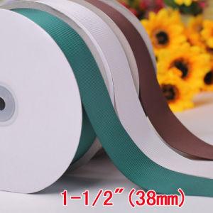 Commerce de gros cadeaux de Noël de l'emballage Grosgrain Ruban en polyester d'enrubannage de mariage (RB7057)