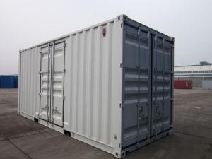 La puerta lateral de 20 pies el contenedor de almacenamiento