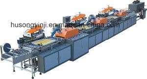 의복 (MDS-300)를 위한 기계를 인쇄하는 자동 리본 레이블 스크린