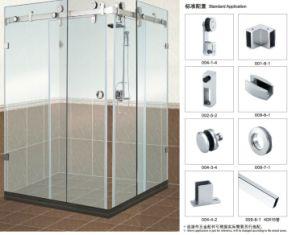 salle de bains accessoires de porte coulissante en verre b004 pour salle de douche salle de. Black Bedroom Furniture Sets. Home Design Ideas