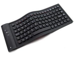 Het draadloze Toetsenbord van het Silicone voor iPad (F-N-KP010)