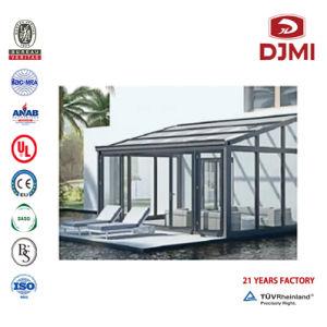 Saison de vente Sunrooms trempé à chaud Solarium panneaux pour la vente de la véranda en verre de style salle de Sun en aluminium