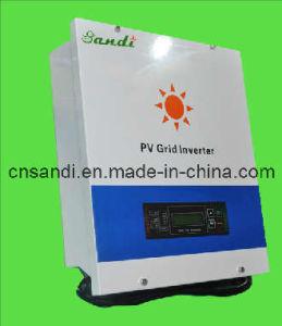 イギリスG83/1証明書が付いているLCD表示の格子タイの太陽インバーター(SDS-4000W)