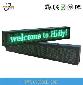Économies d'énergie Portable LED pour le magasin d'affichage de la publicité de défilement