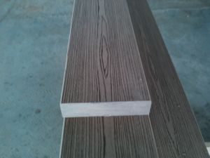 O composto de plástico para um deck de madeira Pergola (200*50)
