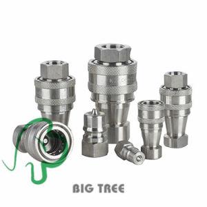 Raccordo a disinnesto rapido dell'accoppiamento rapido idraulico dell'acciaio inossidabile