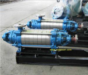 Горизонтальный Многоступенчатый центробежный водяной насос давления с дизельным двигателем (D & ГУК)