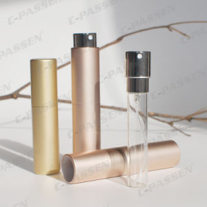 Алюминиевый атомизатор дух с внутренней стеклянной бутылкой (PPC-AT-1701)