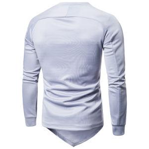 OEM 긴 소매에 의하여 인쇄되는 디자인 t-셔츠