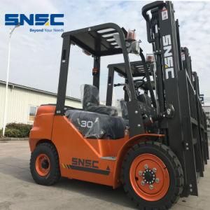 Snsc 3トンのIsuzu日本のエンジンを搭載するディーゼルフォークリフトの価格