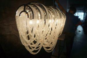 Luxury Custom-Made Cadeia Projeto decorativa lustre de cristal (KA11611)