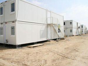 La construcción de prefabricados de la casa del contenedor de envío para la Vivienda