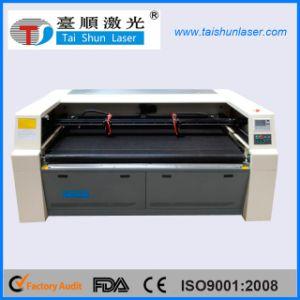 熱い販売の二酸化炭素レーザーの切断のフェルトファブリック機械1800mm*1000mm
