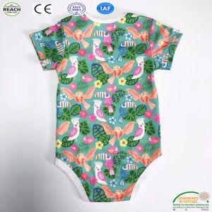 100% algodón orgánico bebé Onesie 2018 Nueva llegada pequeño MOQ