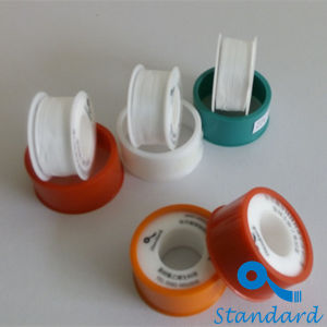 Beroeps 12mm 100% PTFE Hittebestendige PTFE Thread Seal Tape PTFE Tape voor Water & Oil & Gas Pipe Plumbers