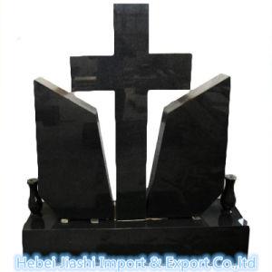 De populaire Absolute Zwarte DwarsGrafsteen van het Graniet voor Liefde