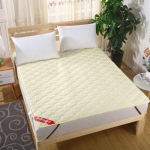 中国製割引によってキルトにされる綿のベッドのマットレスパッド
