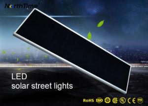 11000 lúmenes de luz solar al aire libre 100W Todo-en-uno calle la luz solar