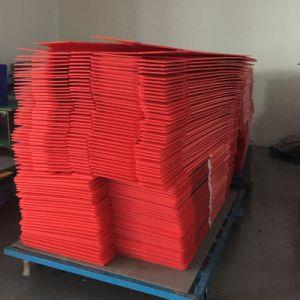 Caixa de embalagem de papelão dobrável, Caixa de plástico, caixa de volume de plástico corrugado de PP