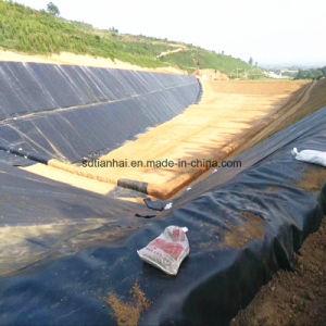 鉱山に使用する中国Geomembraneはさみ金のインストーラ