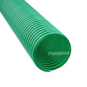 Вентиляция ПВХ стальная проволока Гибкий воздуховод трубопровод